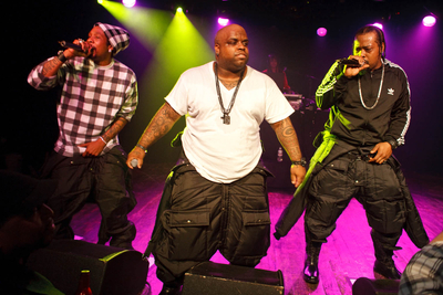 Goodie Mob with Cee Lo Green 8/27/09