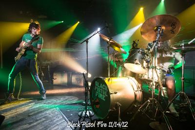 Black Pistol Fire 11/14/12