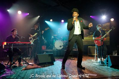 JC Brooks and he Uptonw Sound 4/4/12
