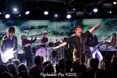 Psychedelic Furs 9/20/11
