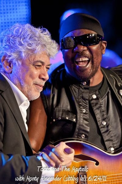Toots and The Maytalls with Monty Alexander (sitting in) 6/24/11