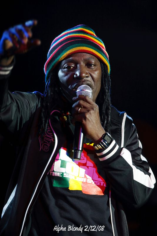 Alpha Blondy 2/12/08