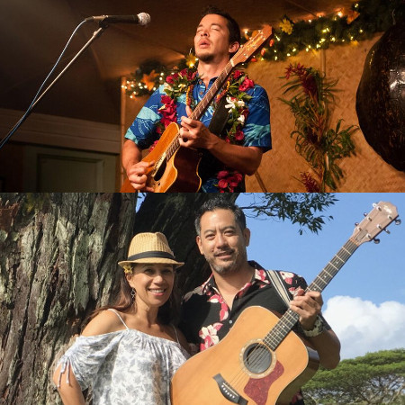 Makana & Shawn and Lehua (from Na Leo Pilimehana)