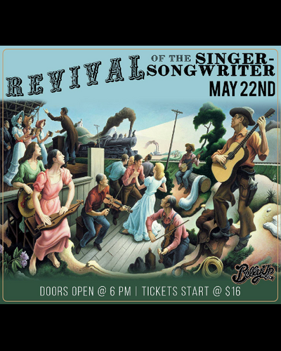 Revival of the Singer-Songwriter Hosted by Billy Galewood ft. Daring Greatly