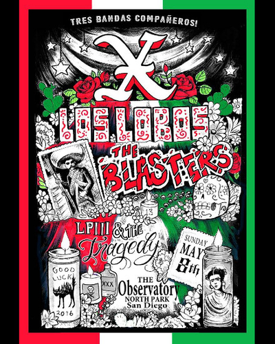 X, Los Lobos, The Blasters, and LP3 & The Tragedy at Observatory North Park