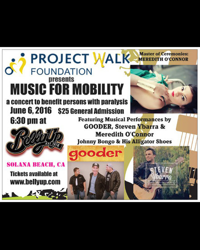 Project Walk's Music for Mobility ft. Gooder, Steven Ybarra & Meredith O'Connor