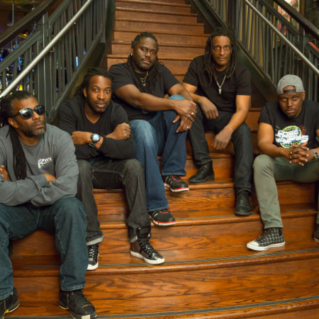 The Original Wailers performing the album Legend