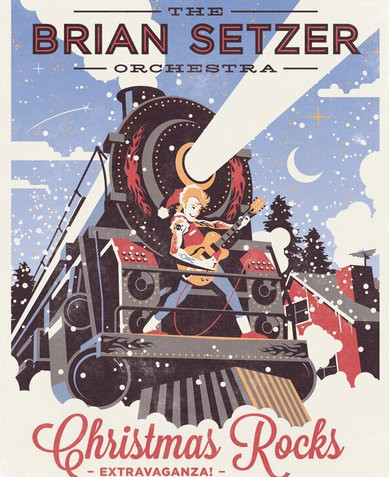 The Brian Setzer Orchestra: Christmas Rocks Extravaganza! Intimate Performance