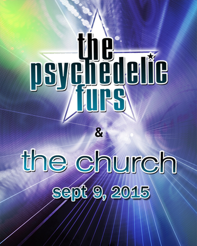 The Psychedelic Furs and The Church at Observatory North Park