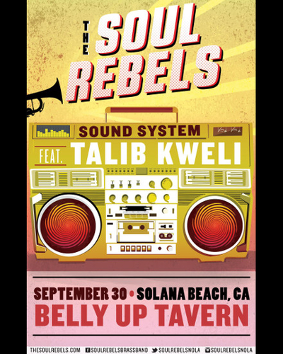 The Soul Rebels Sound System featuring Talib Kweli