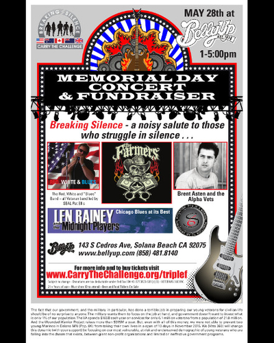 Breaking Silence Memorial Day Fundraiser Presented by Veterans 360
