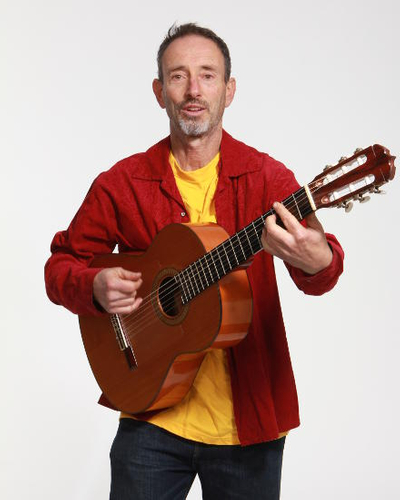 Jonathan Richman featuring Tommy Larkins on the drums
