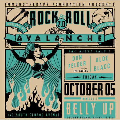 Rock & Roll Avalanche ft. Don Felder formerly of the Eagles & Aloe Blacc