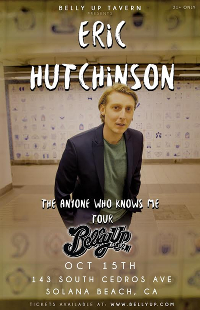 Eric Hutchinson - The Anyone Who Knows Me Tour