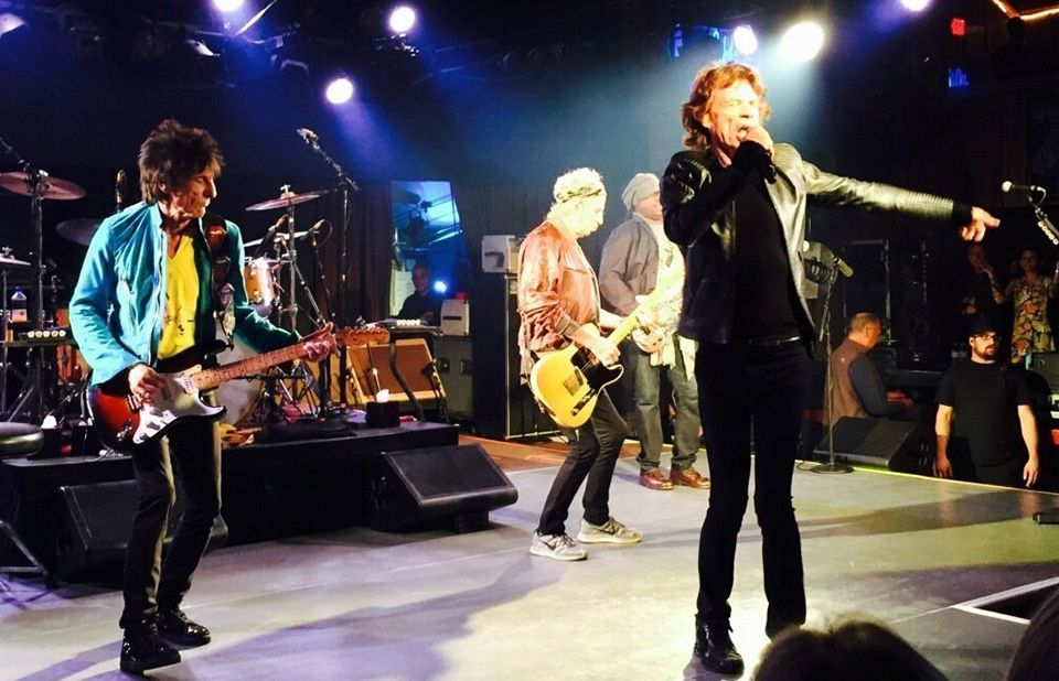 Rolling Stones  at the Belly Up , May 27, 2015