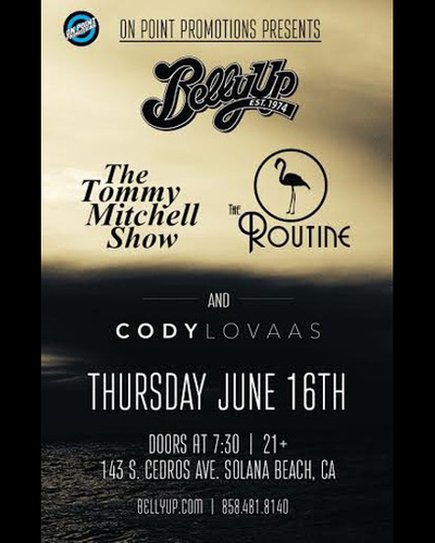 The Tommy Mitchell Show, The Routine and Cody Lovaas