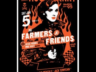 9th Annual Beat Farmers Hootenanny ft. The Farmers & Friends