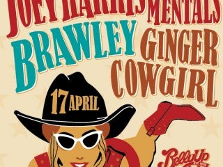Belly Up Honky-Tonk ft. Joey Harris & the Mentals, Brawley and Ginger Cowgirl