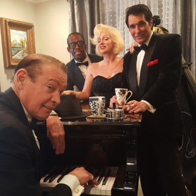 The Chairman and the Board: Rat Pack Tribute (seated show) ft. Graceband's Elvis