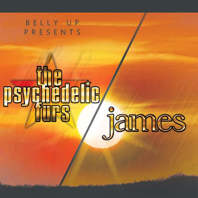 The Psychedelic Furs & James @ Observatory North Park