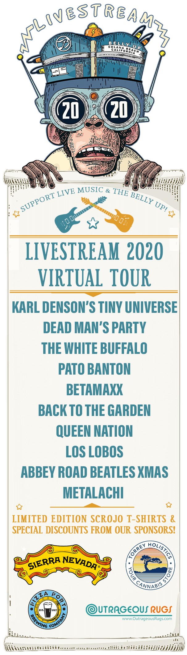 LIVESTREAM 2020 VIRTUAL TOUR