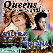 Queens of the Island Tour featuring Anuhea & Etana at Observatory North Park Theatre