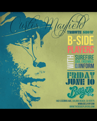 B-Side Players Curtis Mayfield Tribute