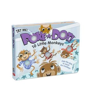 Poke-A-Dot - 10 Little Monkeys