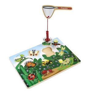 Bug Catching Magnetic Puzzle