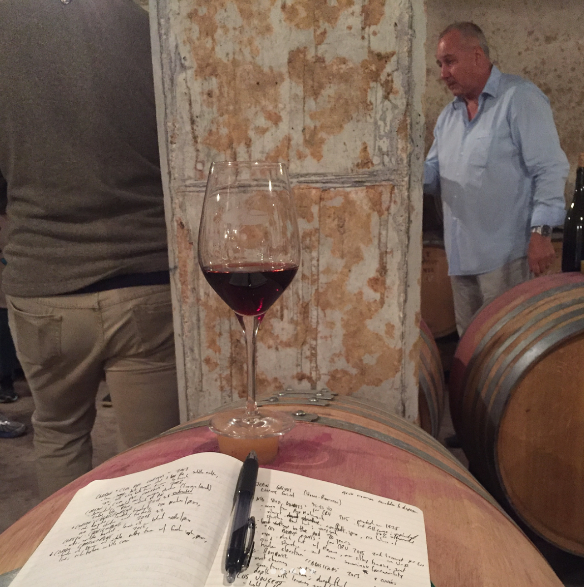 #Burgundy Wine Tasting with #Winemaker  Etienne Grivot