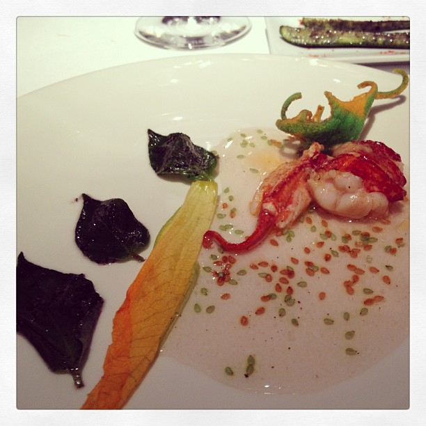 Keeper Collection - Grilled lobster w/ crispy star