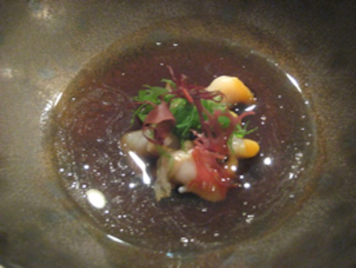 Keeper Collection - Steamed Baby Conch at Can Fabes