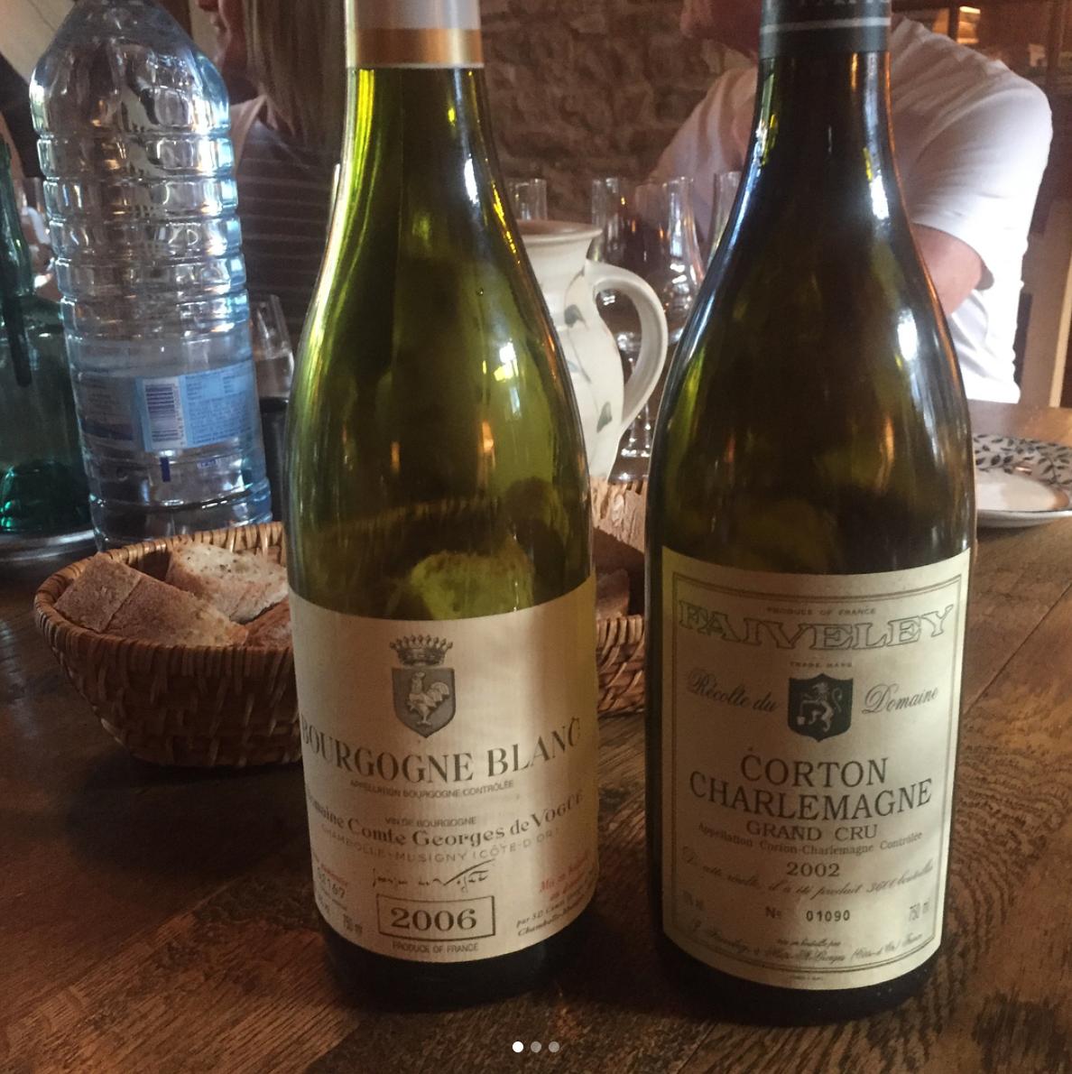 Bourgogne Blanc & Corton Charlemagne