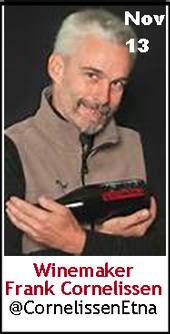 Keeper Collection #SommChat Guest #Winemaker Frank Cornelissen
