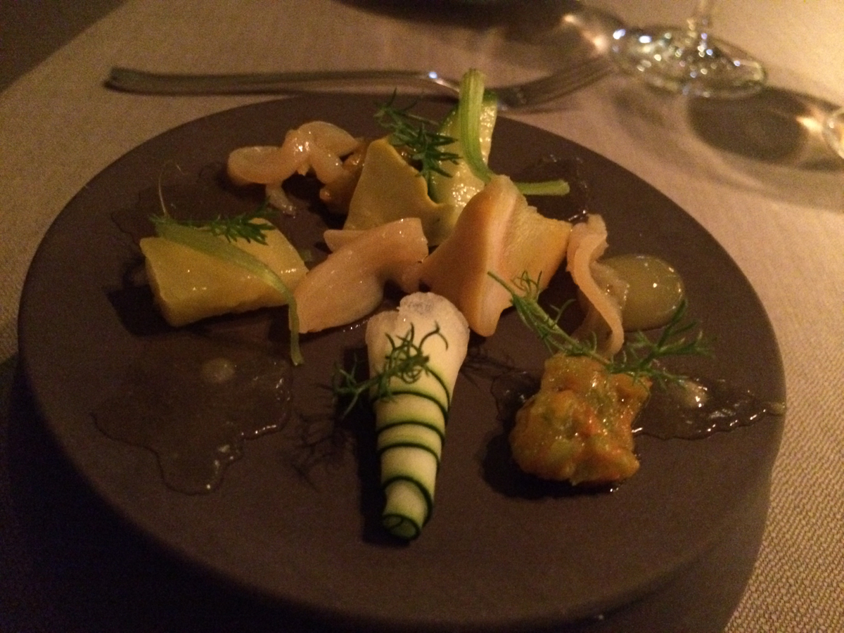Keeper Collection - Zucchini Dish at Grace Restaurant