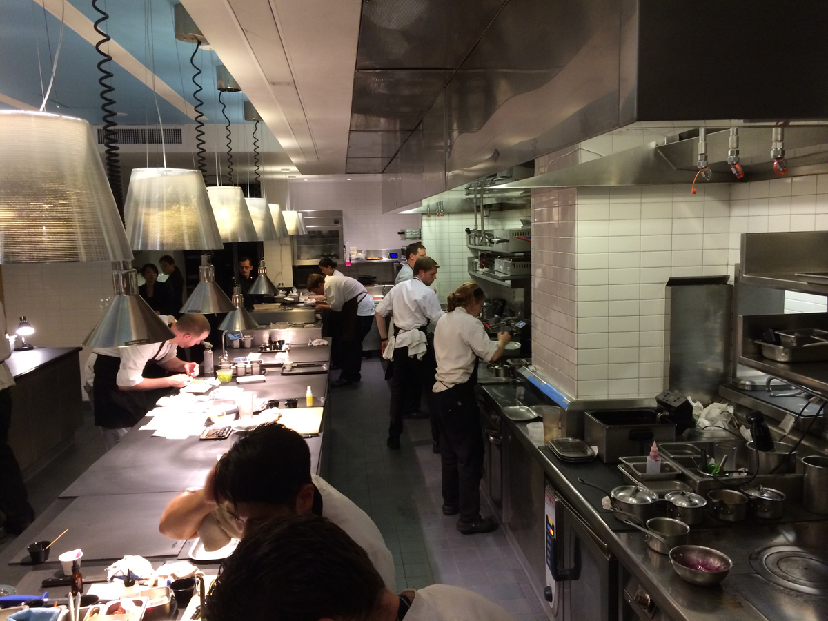 Keeper Collection - Kitchen at L2O Restaurant in Chicago