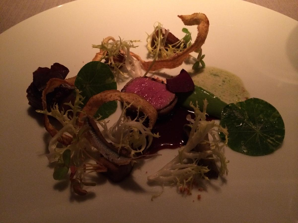 Keeper Collection - Lamb Dish at Grace Restaurant