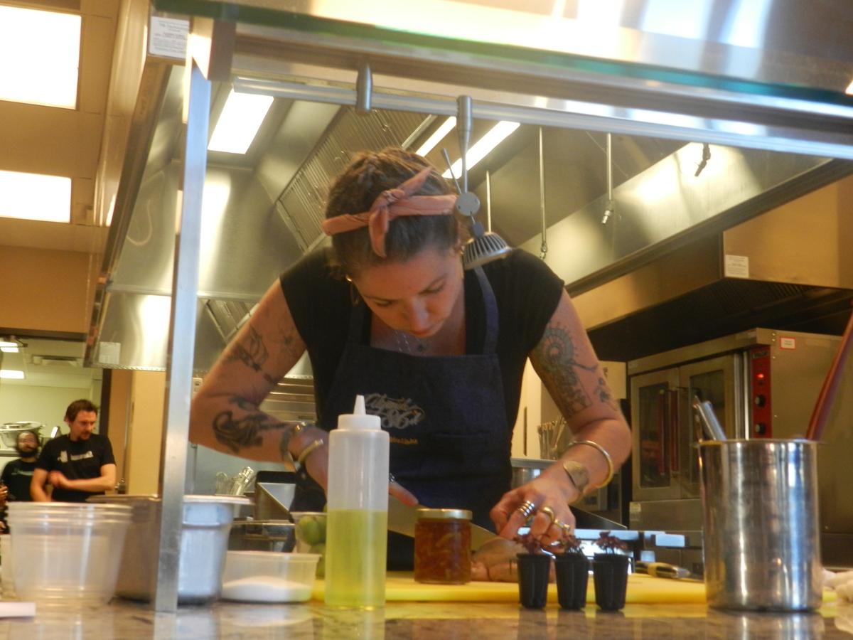 Chef Claire Helbig, Eden East Restaurant