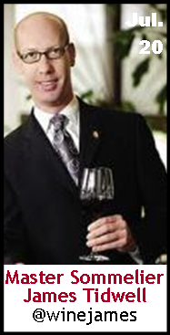 Keeper Collection #SommChat Guest #MasterSommelier James Tidwell