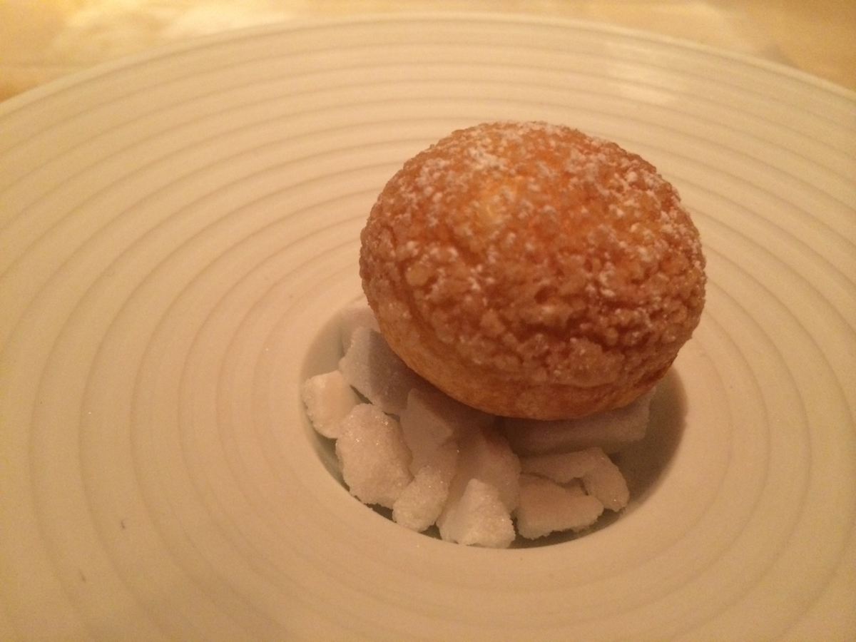 Keeper Collection - Cream Puff at L2O Restaurant