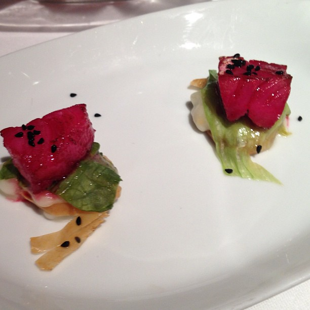 Keeper Collection - Cod Fish marinated in Red Beet Juice