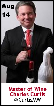 Keeper Collection #SommChat Guest Master of Wine Charles Curtis