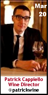 Keeper Collection #SommChat Guest  Wine Director Patrick Cappiello