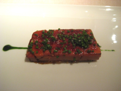 "Keeper Collection Foie Gras ""Coca"" at Cinc Sentits.png"