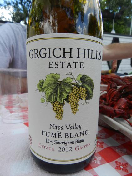 2012 Girghich Hills Fume Blanc