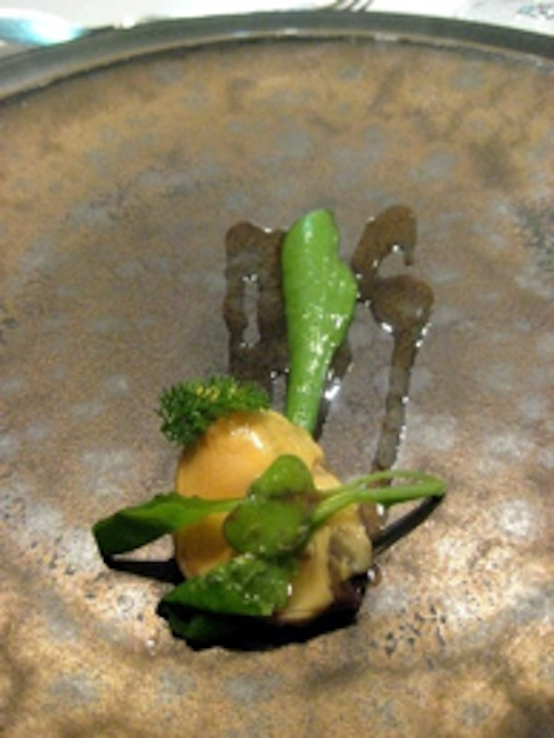 Keeper Collection - Mussel with Veggies at Can Fabes