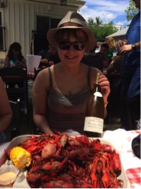 Clothilde with Aligote and Crawfish.jpg