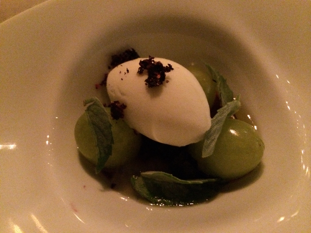 Keeper Collection - Green Chartreuse Dish at Grace Restaurant