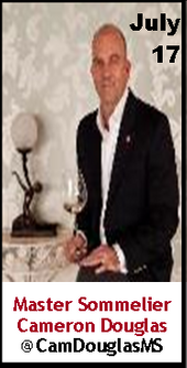 Keeper Collection #SommChat Guest Master #Sommelier Cameron Douglas