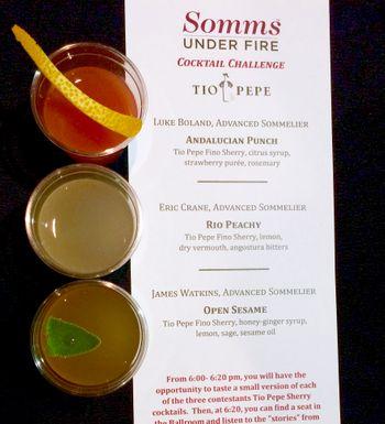 SUF 2015 Cocktail Challenge